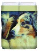Lucky Dog's Life Duvet Cover