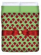 Lucky Ladybugs Duvet Cover