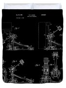 Ludwig Drum Pedal 4 Patent Art 1951 Duvet Cover