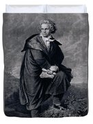 Ludwig Van Beethoven , German Composer Duvet Cover