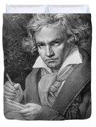 Ludwig Van Beethoven Duvet Cover