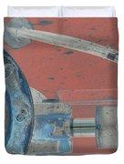 Lug Nut Wheel Left  Duvet Cover