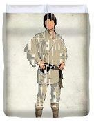 Luke Skywalker - Mark Hamill  Duvet Cover by Ayse Deniz