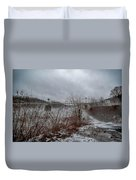 Lumberville Bridge Bucks County Duvet Cover