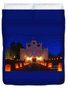 Luminaria Saint Francis De Paula Mission Duvet Cover