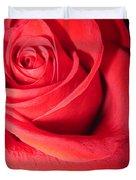 Luminous Red Rose 6 Duvet Cover