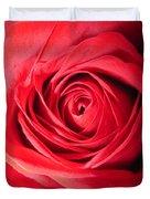 Luminous Red Rose 7 Duvet Cover