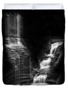 Luminous Waters Iv Duvet Cover