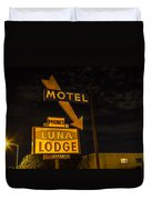 Luna Lodge Night Duvet Cover