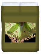 Luna Moth Faux Eyes Duvet Cover