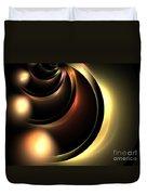 Lunar Duvet Cover by Kim Sy Ok