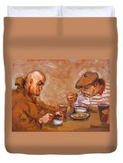 Lunchtime At Tim  Duvet Cover