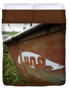 Lund Fishing Boat Duvet Cover