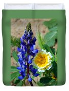 Lupine And Tidy Tip Duvet Cover