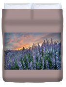 Lupine Dawn Duvet Cover