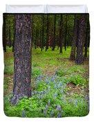 Lupine Forest Duvet Cover