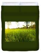 Lush Grass Duvet Cover
