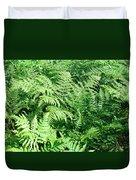 Lush Green Fern Duvet Cover
