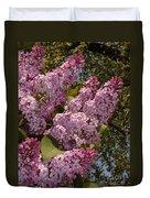 Lush Lilacs Duvet Cover