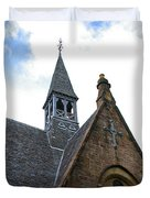 Luss Church Steeple Duvet Cover
