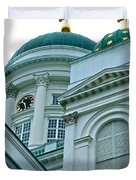 Lutheran Cathedral Of Helsinki-finland Duvet Cover