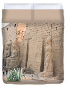 Luxor Temple Duvet Cover