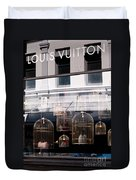 Lv Gilded Cage Bags Duvet Cover