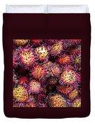 Lychee Fruit - Mercade Municipal Duvet Cover