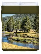 Lyell Canyon Duvet Cover