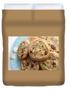 M And M - Chocolate Chip - Cookies - Bakery Shop Duvet Cover