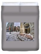 M And T Bank Downtown Buffalo Ny 2014 Duvet Cover