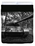 M47 Patton Tank Duvet Cover