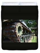 M60 Patton Artillery Tank Tread Duvet Cover