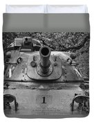 M60 Patton Tank Turret Duvet Cover