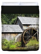Mabry Mill Close Up Duvet Cover