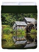 Mabry Mill In Virginia Duvet Cover