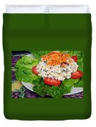 Macaroni Salad 2 Duvet Cover by Andee Design