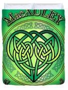 Macauley Soul Of Ireland Duvet Cover
