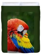 Macaws Of Color28 Duvet Cover
