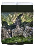 Macchu Picchu - Peru - South America Duvet Cover