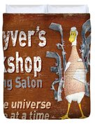 Macgyvers Workshop Duvet Cover