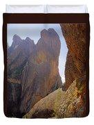 Machete Ridge From North Duvet Cover