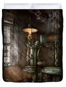 Machinist - Where Inventions Are Born Duvet Cover