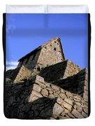 Machu Picchu Hut Peru Duvet Cover