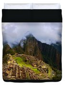 Machu Picchu Overlook Duvet Cover