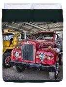 Mack Truck V2 Duvet Cover