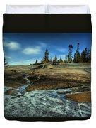 Mackenzie Point Outcrop Duvet Cover