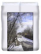 Macomb Orchard Trail Duvet Cover