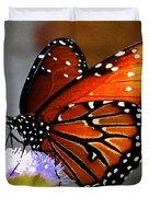 Macro Butterfly Duvet Cover