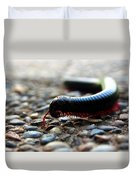 Macro  Millipede Duvet Cover